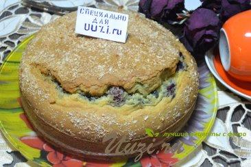 Пирог с вишней и коксовой стружкой Шаг 5 (картинка)