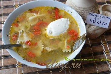 Куриный суп Изображение