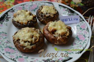 Фаршированные грибы Изображение