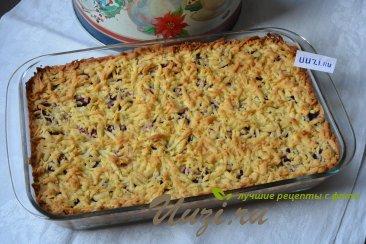 Тертый пирог с малиной Изображение