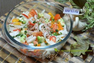 Салат без майонеза Изображение