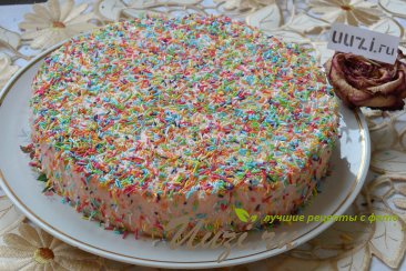 Йогуртовый торт Шаг 10 (картинка)