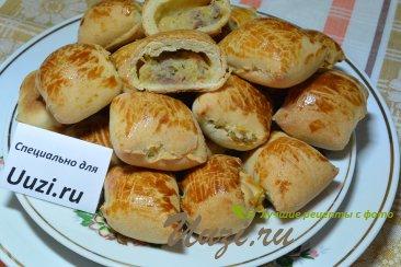 Пирожки из слоеного теста Изображение