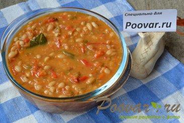 Белая фасоль в томатном соусе Изображение
