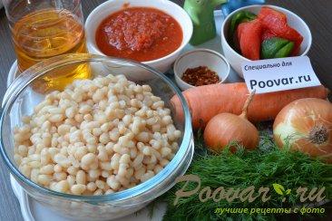 Белая фасоль в томатном соусе Шаг 1 (картинка)