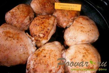 Куриные бёдра запечённые в духовке Шаг 8 (картинка)