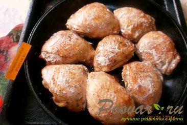 Куриные бёдра запечённые в духовке Шаг 10 (картинка)