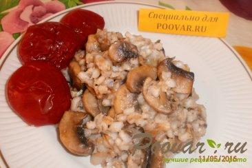 Постная перловая каша с грибами Изображение