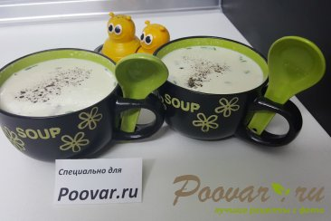 Грибной суп со сливками Шаг 7 (картинка)
