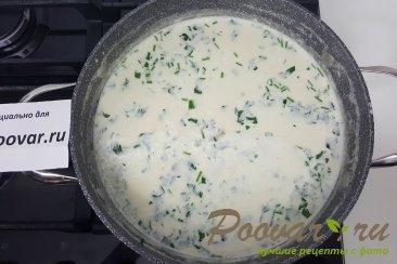 Грибной суп со сливками Шаг 6 (картинка)