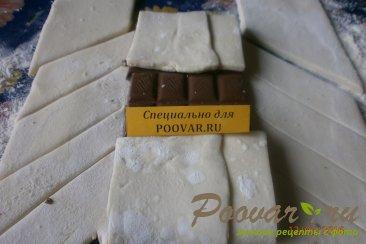 Шоколад в слоёном тесте Шаг 4 (картинка)