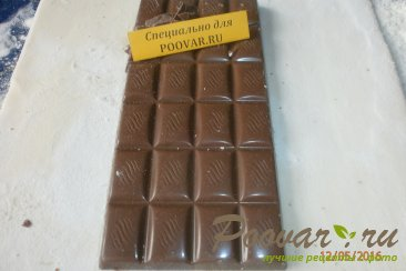 Шоколад в слоёном тесте Шаг 2 (картинка)