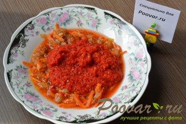 Жареный перец в томатном соусе Шаг 5 (картинка)