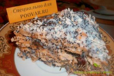 Торт из крекера без выпечки Изображение