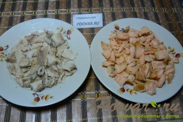 Рыбный пирог из слоеного теста Шаг 2 (картинка)