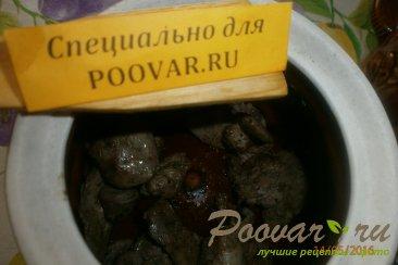 Жаркое из сердечек и печени с грибами Шаг 3 (картинка)