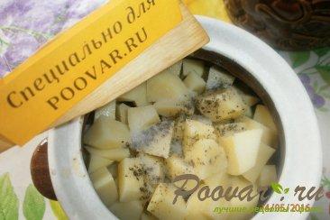 Жаркое из сердечек и печени с грибами Шаг 8 (картинка)