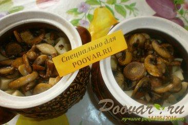 Жаркое из сердечек и печени с грибами Шаг 11 (картинка)