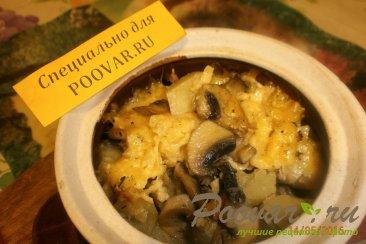 Жаркое из сердечек и печени с грибами Шаг 14 (картинка)