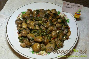 Жаренные грибы Шаг 6 (картинка)