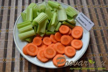 Свиные ребрышки в духовке с овощами Шаг 6 (картинка)