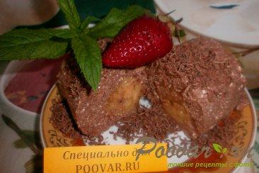 Творожно-шоколадный десерт с бананом Шаг 10 (картинка)