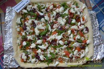 Пицца с креветками Шаг 6 (картинка)
