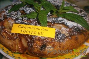 Пирог в сковороде без выпечки Шаг 15 (картинка)