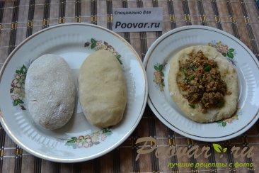 Картофельные зразы с куриной печенью Шаг 8 (картинка)