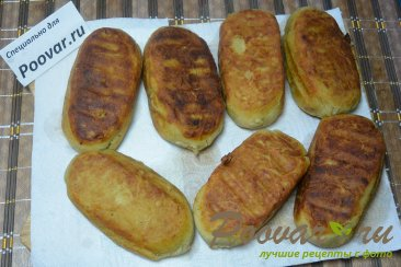 Картофельные зразы с куриной печенью Шаг 9 (картинка)