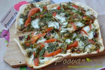 Мини пицца на сковороде Изображение