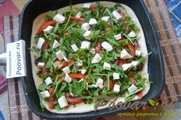 Мини пицца на сковороде Шаг 4 (картинка)