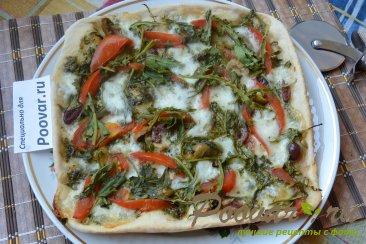 Мини пицца на сковороде Шаг 6 (картинка)