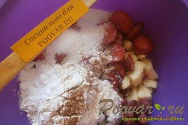 Овсяный пирог с яблоками и ягодами Шаг 6 (картинка)