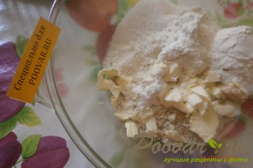 Овсяный пирог с яблоками и ягодами Шаг 2 (картинка)