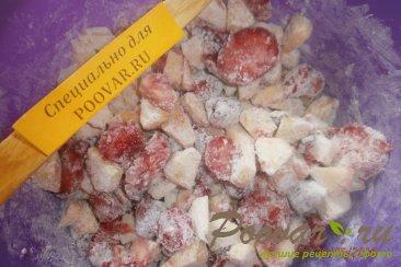 Овсяный пирог с яблоками и ягодами Шаг 7 (картинка)