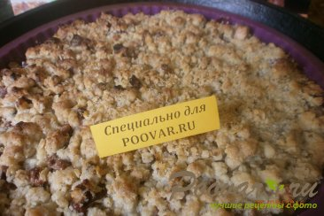 Овсяный пирог с яблоками и ягодами Шаг 11 (картинка)