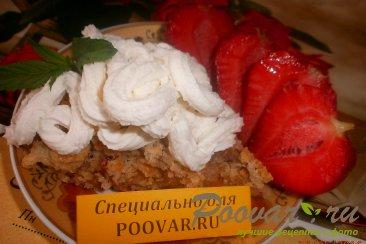 Овсяный пирог с яблоками и ягодами Шаг 13 (картинка)