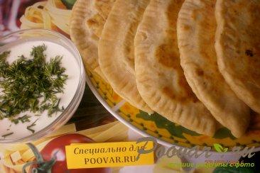 Кутабы-азербайджанские лепёшки Шаг 20 (картинка)