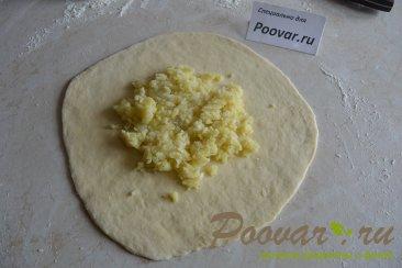 Осетинские лепешки с картофелем и сыром Шаг 8 (картинка)