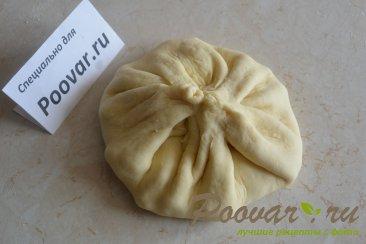 Осетинские лепешки с картофелем и сыром Шаг 9 (картинка)