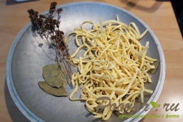 Куриный суп с домашней лапшой Шаг 4 (картинка)