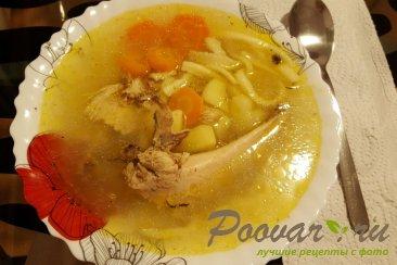 Куриный суп с домашней лапшой Шаг 6 (картинка)