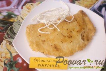 Чебуреки с сыром из слоёного теста Изображение