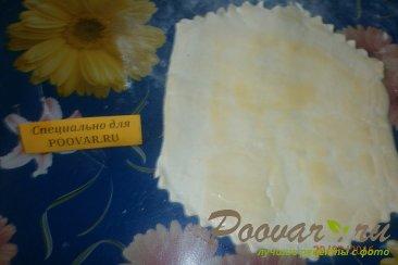 Чебуреки с сыром из слоёного теста Шаг 4 (картинка)