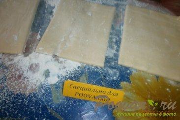 Чебуреки с сыром из слоёного теста Шаг 1 (картинка)