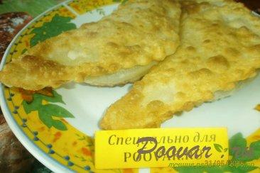 Чебуреки с сыром под заморозку Шаг 10 (картинка)