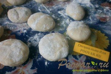 Чебуреки с сыром под заморозку Шаг 4 (картинка)