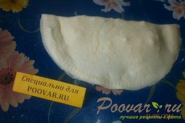 Чебуреки с сыром под заморозку Шаг 7 (картинка)