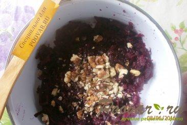 Салат из свеклы и чернослива с грецкими орехами Шаг 3 (картинка)